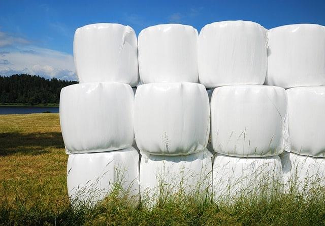 Ett exempel på en förpackning skapad av polymer som används inom jordbruket.